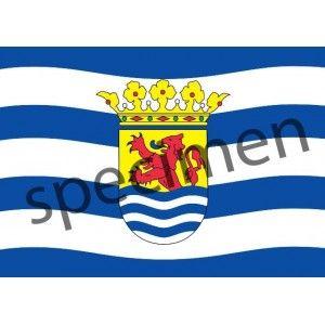 Ansichtkaart 1 Zeeuwse vlag