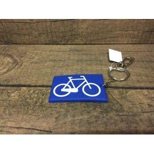 Sleutelhanger Rubber fiets