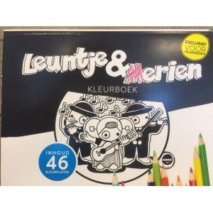 Kleurboek Leuntje en Merijn