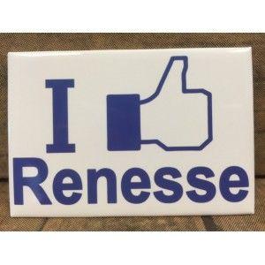 Magneet I Like Renesse op is op