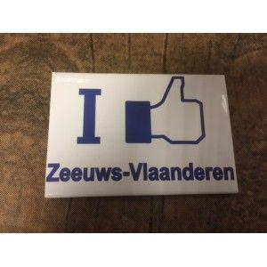 Magneet I Like Zeeuws-Vlaanderen op is op