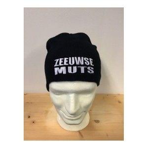 """Muts """"Zeeuwse muts"""" zwart"""