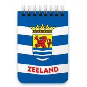 Notitieboekje A7 Zeeuwse vlag