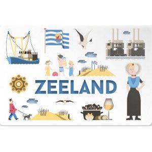 Placemat Zeeland by Jochem