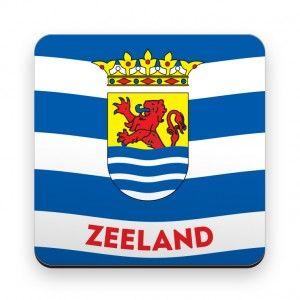 Onderzetter Zeeuwse vlag