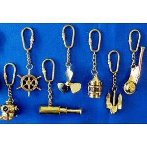 Koperen sleutelhanger