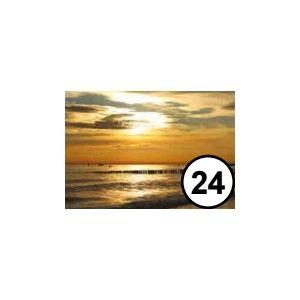 Ansichtkaart 24 Zonsondergang