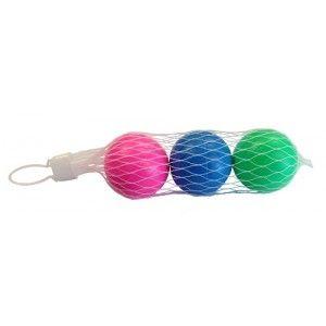 Beachball ballen, 3 in net