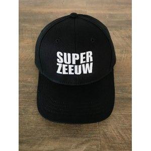 Cap / Pet Super Zeeuw zwart