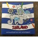 Kleurkaarten Zeeland incl enveloppen