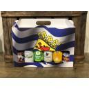 Geschenkdoos Zeeuwse Vlag 6 bieren