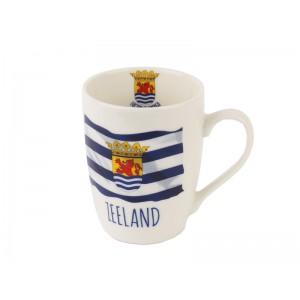 Beker vlag Zeeland eb/vloed