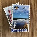 Postzegelmagneet Renesse
