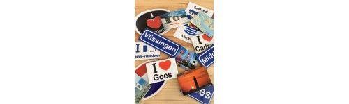 Magneten en Stickers